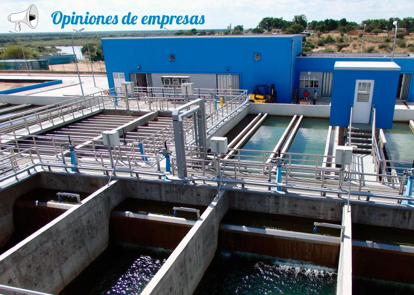 Planta de abastecimiento de agua potable en Cunene, construcción de la empresa de Mauricio Toledano