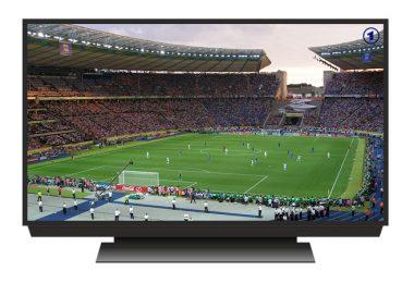 televisión y fútbol