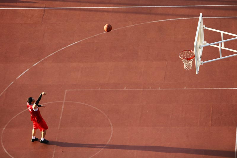 Pabellón de baloncesto