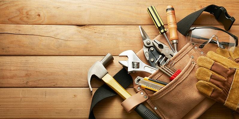 cinturón con herramientas